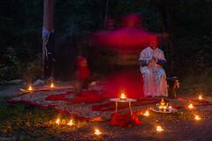 Arabic night (kaifr) Tags: dancing akerselva kveld candlelights flickrfriday lysvandring elvelangs arabicnight fakkellys lprhythm