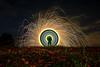 EMD # 225 - In the poppy fields (1) (Electrical Movements in the Dark) Tags: painting artlight lapp lightartperformancephotography electricalmovementsinthedarkemdlight