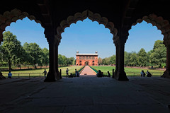 The Red Fort, Delhi, India (CamelKW) Tags: india architecture garden delhi worldheritagesite emperor mughal theredfort