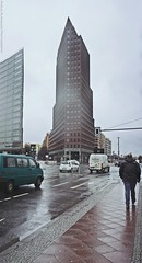 Potsdamer Platz, Berlin, Germany (khalid almasoud) Tags: potsdamer platz berlin germany rain clouds cloudy sony ilce5100 sonya5100 sonycamera urban towers mirrorless camera ألمانيا برلين 2017 سوني تصوير مطر potsdamerplatz
