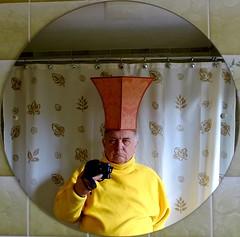 The Great Khan 321-365 (10) (♔ Georgie R) Tags: bathroom mirror orange khan werehere wah hereio