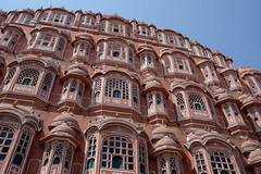 One Way Mirror (realstephenwhite) Tags: mughal building historic travel india palace heritage hawamahal lattice architecture xe2 fujifilm