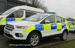 CN17BRZ (HkEmergencyPhotography) Tags: brand new gwent police 2017 ford kuga incident response vehicle blue lights emergency wales uk cwmbran headquarters
