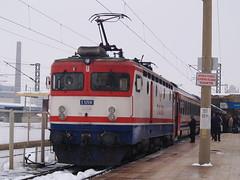 A Turkish Railways E52500 Class electric locomotive at Eskişehir with the 'Başkent Ekspresi'/'Capital Express' (Ankara-Istanbul) (Steve Hobson) Tags: turkish railways tcdd eskişehir e52500 koncar 4419 zfbh başkent capital ekspresi express