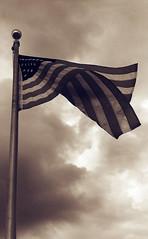 USA (Donald Palansky Photography) Tags: flag donaldpalansky wind clouds