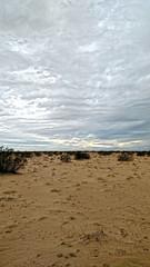 Sand and Sky (jhhwild) Tags: cloudy clouds yuma arizona sand sky