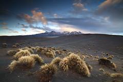 Dawn Mount Ruapehu NZ (angus clyne) Tags: mount ruapehu dawn rain storm new zealand north island volcano active snow mtruapehu
