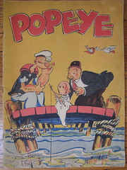 1930's Popeye Book Cover (Donald Deveau) Tags: popeye cartoon wimpy book
