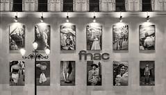 'fnac' (Canadapt) Tags: building shopping fnac photographs lamppost highlights bw sevilla seville spain canadapt