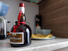 Just for the bottle (mostodol) Tags: xt20 fuji fujifilm bottle bouteille alcool liqueur highiso