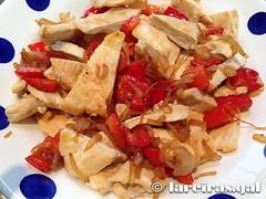 Empanada de pollo (lareiras.gal) Tags: empanada pollo