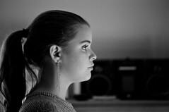 profile (Paul Lundberg) Tags: nikonfe2 nikkor80200mmf45ais ilfordhp5400 kodakhc110 plustekopticfilm7300 film 35mm blackwhite portrait profile