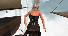 Avilion Nexus (Osiris LeShelle) Tags: secondlife second life avilion nexus party knight dance theme airship pirates steampunk osiris osi fun lol hair