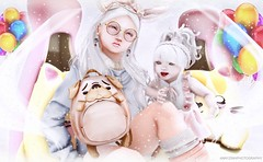 """=Zenith= Photo Contest Mar 2017 -(rawany9)""""  MY PUG BACKPACK (Annyzinh Oliveira) Tags: zenith kustom9 the mystic randommatter les sucreries de fairy liaison collaborative event truth hair"""