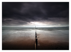 Individual (picturedevon.co.uk) Tags: exmouth beach devon england uk seascape le longexposure landsacpe weather sky clouds sea water waves colour outdoors nisi ndfilter canon motion coast sand surf nature picturedevon photography