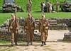 "Tutbury Castle Photo Day 2017 (grab a shot) Tags: ""eos 7d mark ii"" canon eos uk england staffordshire tutbury tutburycastle livinghistory oldfashioned vintage 2017 man uniform army soldier military homeguard"