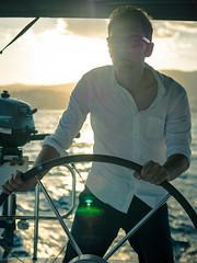 JTC_Mallorca_Cruise_2016_seenbyalex-28 (seenbyalex) Tags: alexanderschulz balearen flare jointhecrew kapitän lensflare lumixg7 lumixg70 mallorca meer nokton25mm ocean panasonic portrait sailboat sailing see seenbyalex segelboot segeln segeltörn skipper spain steuermann sun voigtländer palma illesbalears spanien es