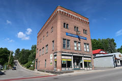 Masonic Temple (jschumacher) Tags: newyorkstate saranaclakenewyork saranaclake upstate adirondacks brick masonictemple