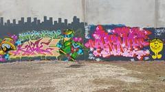 Kame & Coma: 'Annie'... (colourourcity) Tags: streetart streetartnow streetartaustralia graffiti melbourne burncity awesome colourourcity nofilters letters alphabetmonsters coma coma1 comaone annie tbs kame kamejo132 ssb ac allcity