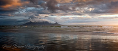 Table Mountain Pano-Rig Sunset (Panorama Paul) Tags: paulbruinsphotography wwwpaulbruinscoza southafrica westerncape capetown tablemountain blaauwbergbeach clouds beach reflections sunset panorama
