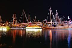 DSC_5496 Dows at Katara. Doha (Qatar) (Santiago Sanz Romero) Tags: katara doha qatar dowfestival barcos dows