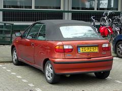 Fiat Punto cabrio 1999 nr3515 (Ardy van Driel) Tags: zgpz76 car softtop
