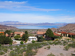 View of Lake Mead (Lake Effect) Tags: bouldercitylakemead nevada houses explore explored