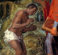 Pieter Lastman The Baptism of the Eunuch Netherlands (1608) extra thanks to PP_Rubens on twitter for showing me this work; I'd seen Lastman's other baptism but never this one! (medievalpoc) Tags: art history medievalpoc baptism eunuch pieter lastman twitter netherlands 1600s