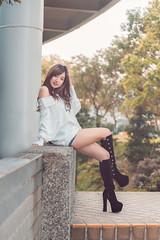 DSC_0399 (Kevin,Chen) Tags: 優格 兒童新樂園 文教館 美少女 d750 yojurt 2470 人像 girl nikon lady portrait