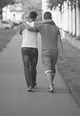 Love ? (АндрейНовиков1) Tags: canon eos 5d mark ii ef70200mm f28l usm men yang love street life whiteandblack