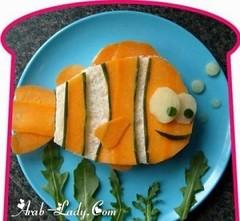 فن الرسم على الطعام - صور (Arab.Lady) Tags: فن الرسم على الطعام صور