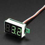 Mini 3-wire Volt Meter (0 - 99.9VDC) thumbnail