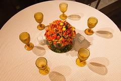 Centro de mesa (Flor e Forma) Tags: flowers wedding flores yellow laranja decoration rosa amarelo casamento centerpiece alstroemeria decorao vinho terracota iateclubedesantos centrodemesa minirosa florforma floreforma