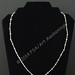 Necklace Silver and black by Amy Woods Jewelry $15
