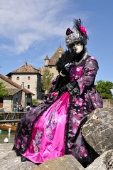 Parade vénitienne Yvoire (joménager) Tags: nikon passion f28 afs masque hautesavoie 1755 yvoire rhônealpes d300s costumesvénitiens