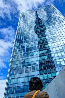 Reflected Tokyo Skytree (反射スカイツリー)