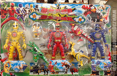 Bootleg Power Rangers Bakuryu Sentai Abaranger Dino Thunder (Raging Nerdgasm) Tags: tom power dino rangers thunder bootleg raging rng sentai nerdgasm abaranger bakuryu khayos