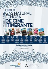 Angy en la tercera edición del Ciclo Gas Natural Fenosa de Cine Itinerante