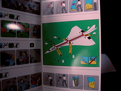 Flight Safety card (TheMachineStops) Tags: inflight plane sst airplane ba concorde britishairways aeroplane aviation travel aircraft vacation deltawing firstclass jet airliner turbojet