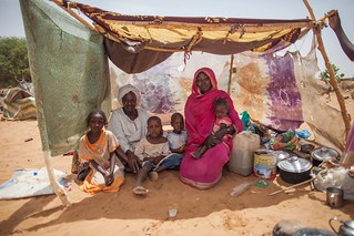 Newly displaced families