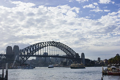 the bridge (JennWrenn) Tags: sydney circularquay harbourbridge thecoathanger