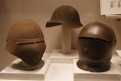 World War I helmet prototypes (THoog) Tags: nyc newyorkcity newyork armor armour themet metropolitanmuseumofart armatura armadura armure rüstung thoog bashforddean