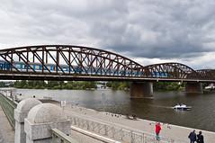 Rusty bridge (PG63) Tags: june czech prague prag praha republika 2014 ceska tjeckien