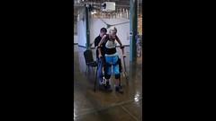Sarah Ekso Bionics Demo