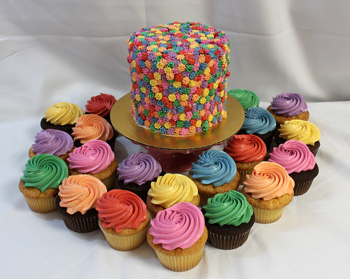 Colorful Cupcakes med