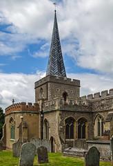 St Nicholas Church - Stevenage (Olympus OMD EM5 & 12-32mm Zoom) (markdbaynham) Tags: church st four zoom evil olympus nicholas micro third stevenage hertfordshire omd csc herts m43 mft em5 u43 micro43 m43rd u43rd 1232mm