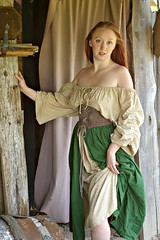barmaid ukraine (mrdixonda) Tags: hot ginger dress boobs pirate wench