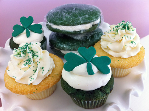 St Patty Cupcakes