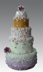 Frill  wedding cake (Gellyscakes) Tags: wedding cake frill