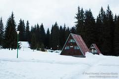 Our Toblerone Shaped Cabin in Pomporovo, Bulgaria